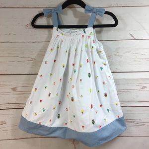 Disney Little White Dress